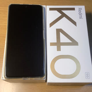 ANDROID - Xiaomi Redmi k40 グローバルRom焼き済 6/128GB