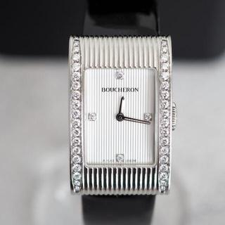 BOUCHERON - 美品✨ブシュロン リフレ ダイヤベゼル 時計✨ロレックス ブルガリ カルティエ