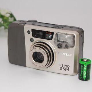 ペンタックス(PENTAX)の★綺麗・完動品★A125 PENTAX ESPIO 115M ゴールド(フィルムカメラ)
