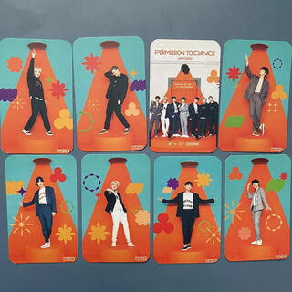 防弾少年団(BTS) - BTS♥Permission to Dance カード 8枚セット