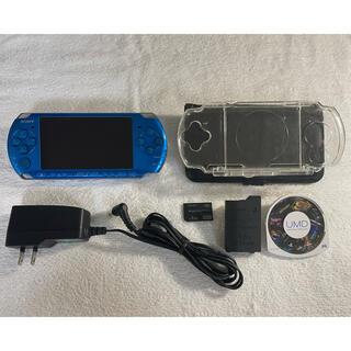 PlayStation Portable - 良品 PSP-3000  バイブラントブルー