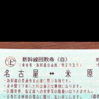 JR - 新幹線 名古屋 米原 自由