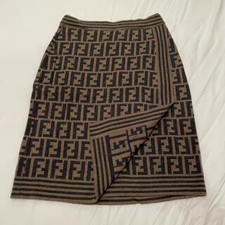 フェンディ(FENDI)のFENDI ニットスカート(ミニスカート)