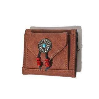 チャイハネ - 新品 チャイハネ ミニウォレット 三つ折り財布 札入れ 小銭入れ カードケース