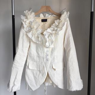 Paul Harnden - 美品 elena dawson coat White