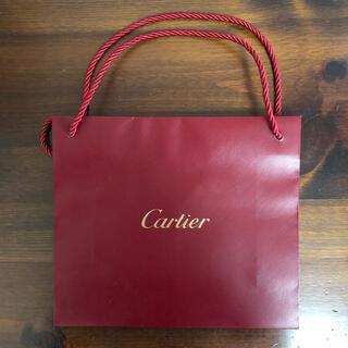カルティエ(Cartier)のCartier カルティエ  ショップ袋 ショッパー 高級ブランド(ショップ袋)