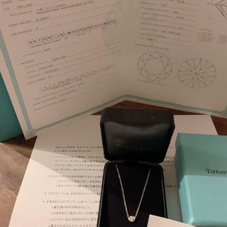 Tiffany & Co. - バイザヤード YG/0.26ct/G/VS1/3EX