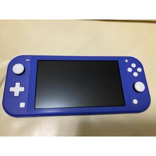 Nintendo Switch - 中古美品☆Nintendo Switch Lite ブルー☆送料無料