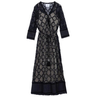 Ameri VINTAGE - アメリヴィンテージ Geometry Lace Dress
