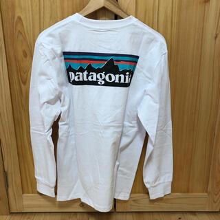 patagonia - Patagonia パタゴニア 長袖Tシャツ ロンT 白ホワイト Lサイズ