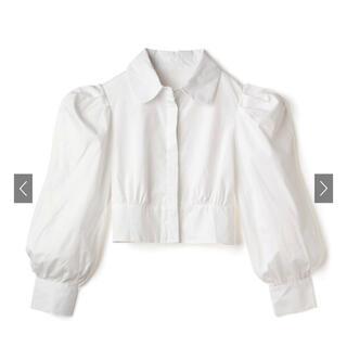 GRL - GRL パワーショルダーショート丈シャツ[ac1963]