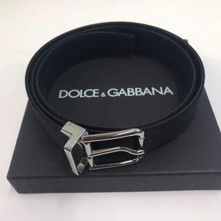 DOLCE&GABBANA - DOLCE&GABBANA ドルチェアンドガッバーナ ベルト レザー ブラック