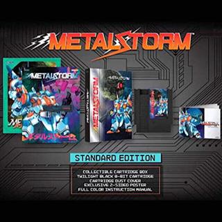 ファミリーコンピュータ(ファミリーコンピュータ)の重力装甲メタルストーム Metal Storm 海外版 NES(家庭用ゲームソフト)