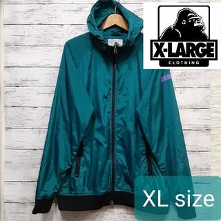 XLARGE - ✨希少デザイン✨ XLARGE(エクストララージ) ウィンドブレーカー XL 秋
