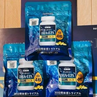 サントリー - サントリー DHA&EPA セサミンEX オリザプラス 120粒入 3個セット