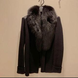 コムサデモード(COMME CA DU MODE)のコムサデモード ファーコート 美品(毛皮/ファーコート)