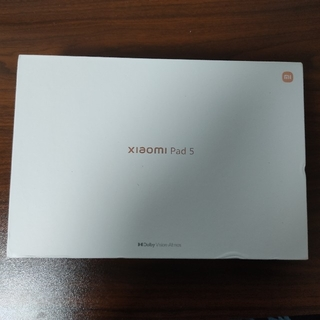ANDROID - xiaomi pad5  6gb/256gb パールホワイト グローバル