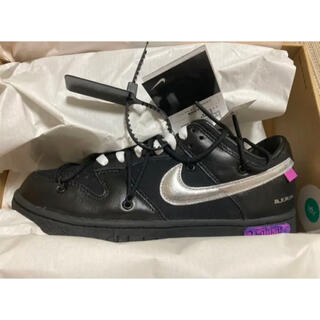 OFF-WHITE - OFF-WHITE × NIKE DUNK LOW lot50 26cm