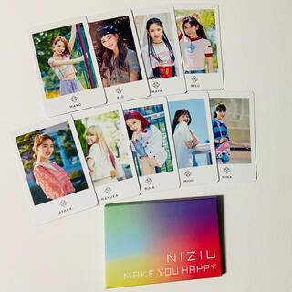 NiziU【Makeyouhappy】フォトカードセット(9枚入)