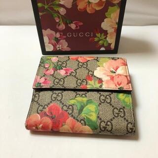 Gucci - GUCCI ウォレット 二つ折り財布 花柄 410071 レディース ブランド