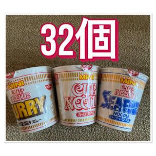 ニッシンショクヒン(日清食品)のカップヌードル ミニ 32個(インスタント食品)
