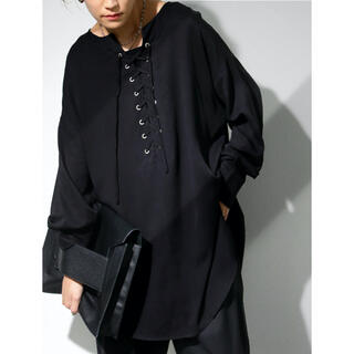 antiqua - 【新品】2WAYデザインシャツ サイズF(ブラック)