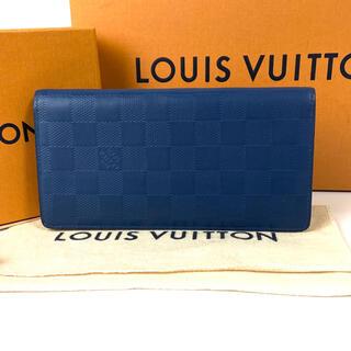 LOUIS VUITTON - ♡極上美品♡ルイヴィトン ブラザ 長財布 ダミエ・アンフィニ 正規品✨