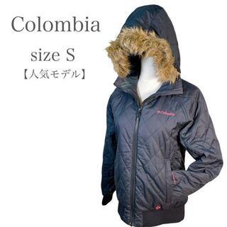 コロンビア(Columbia)の【人気モデル】コロンビア スポーツウエアジャンパー ファー付き ブラック M(ナイロンジャケット)