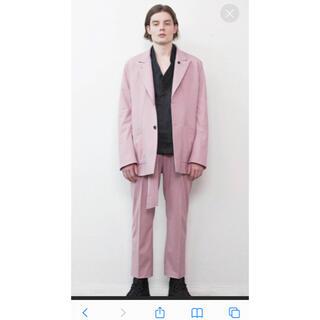 ジョンローレンスサリバン(JOHN LAWRENCE SULLIVAN)のMinus★19ss ピンク スーツ セットアップ(セットアップ)