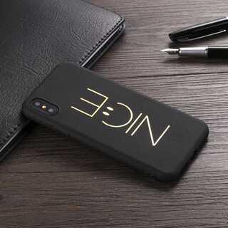 ナイス かわいい iPhone XS / X アイフォン ソフト(iPhoneケース)