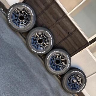Goodyear - 200系ハイエース用 スタッドレスタイヤ+ホイール4本セット