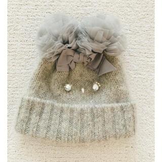 カシラ(CA4LA)のCA4LA♡新品未使用タグ付 定価16740円 ニット帽子 美品(ニット帽/ビーニー)