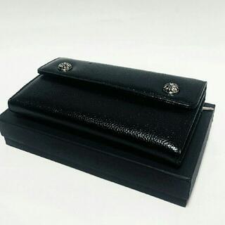 ユリの紋章 財布 小銭入れあり 長財布 サイフ レザーウェーブ