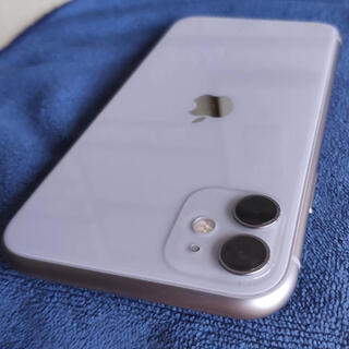 Apple - iPhone11 パープル 64GB SIMフリー