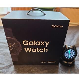 ギャラクシー(Galaxy)のSAMSUNG GALAXY WATCH 42MM MIDNIGHT BLACK(腕時計(デジタル))