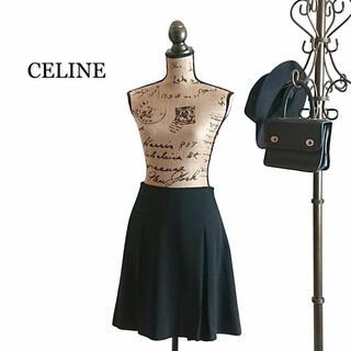 セリーヌ(celine)のCELINE セリーヌ スカート ブラック(ミニスカート)