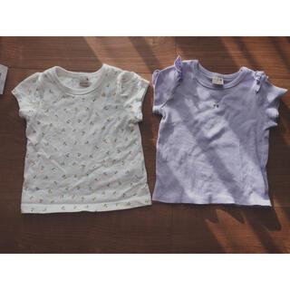 プティマイン(petit main)のTシャツ2枚セット(Tシャツ)