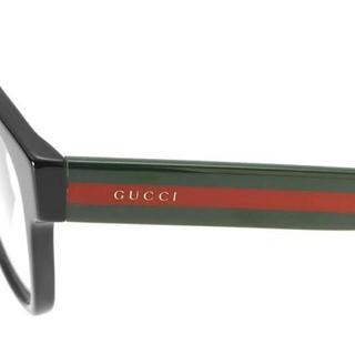 Gucci - ★ GUCCI グッチ ブラック ストライプ メガネ