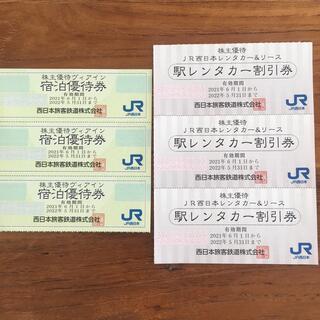 JR西日本 株主優待券 ヴィアイン レンタカー(その他)