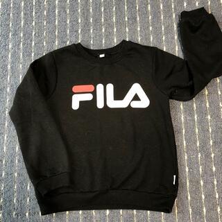 FILA - FILA フィラトレーナー 黒 サイズ140