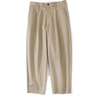 1LDK SELECT - 【最新】21AW UNIVERSAL PRODUCTS 1TUCK PANTS