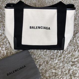 バレンシアガ(Balenciaga)のバレンシアガ ネイビーカバ  S(トートバッグ)