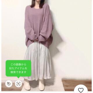 グレイル(GRL)の【GRL】完売品♡新品タグ付き*オーバーサイズニットトップス(ニット/セーター)