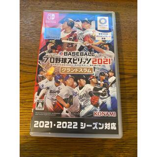 コナミ(KONAMI)のプロスピ 2021 グランドスラム Switch(家庭用ゲームソフト)
