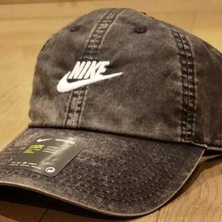 NIKE - NIKEキャップ 帽子 【H86 .新品.ビンテージ加工】