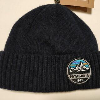 パタゴニア(patagonia)の新品 タグ付き patagonia パタゴニア プロデオ ビーニー ネイビー(ニット帽/ビーニー)