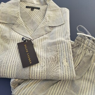 Ralph Lauren - ♡新品未使用 ラルフローレンホーム ルームウェア パジャマ 長袖 上下セット♡