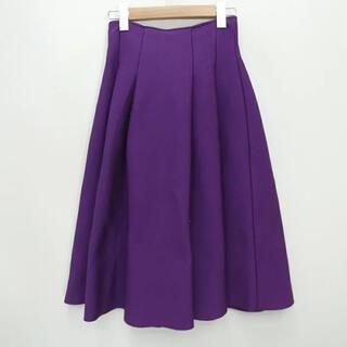 ルシェルブルー(LE CIEL BLEU)のルシェルブルー タック  フレアスカート コート ワンピース(ひざ丈スカート)