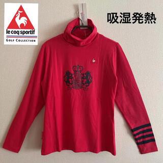 le coq sportif - LL/新品定価10400円/ルコックゴルフ/レディース/秋冬/長袖シャツ/PK