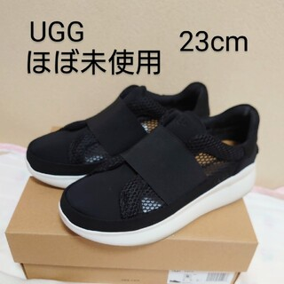 UGG - 【超美品】アグ UGG リブライトスニーカー 6 23cm 黒